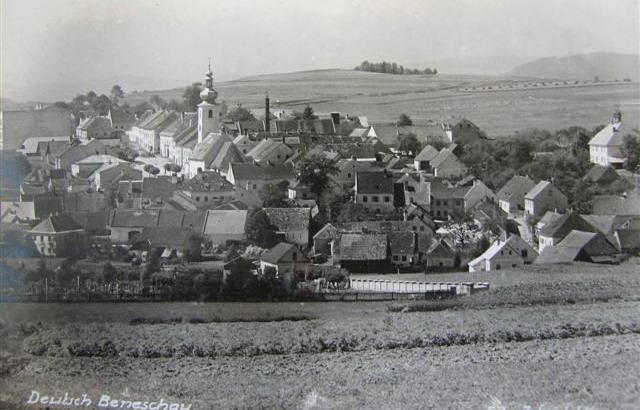 Benešov nad Černou na počátku 20. století